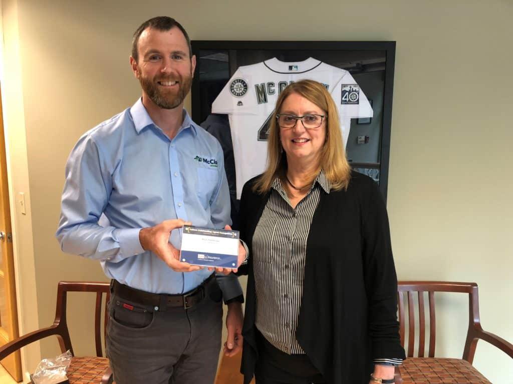McClain Insurance Everett Nick Pembroke Safeco S.O.A.R. Award