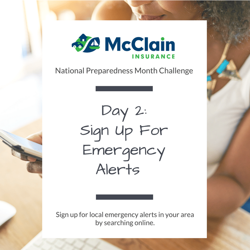 McClain Insurance Emergency Preparedness Challenge Goals