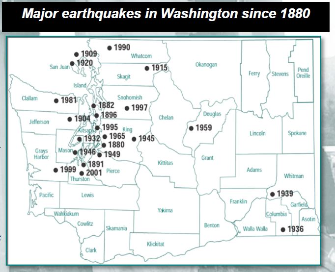 washington state earthquake insurance