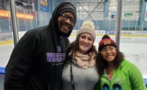 Akeem, Caitlin and Kaitlyn