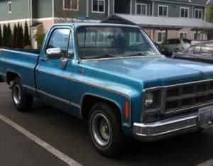 Vintage truck