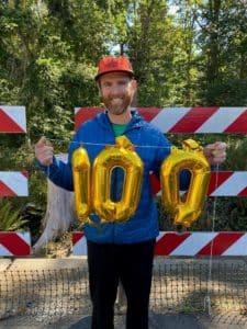 Nick's 100 mile race