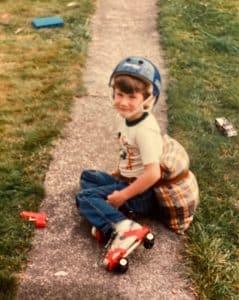 Nick Pembroke roller skating