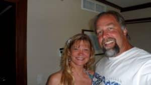 Dova and husband Shawn