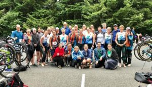 Lake Padden triathlon
