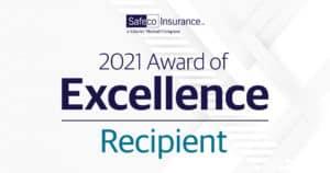 Safeco Award of Excellence